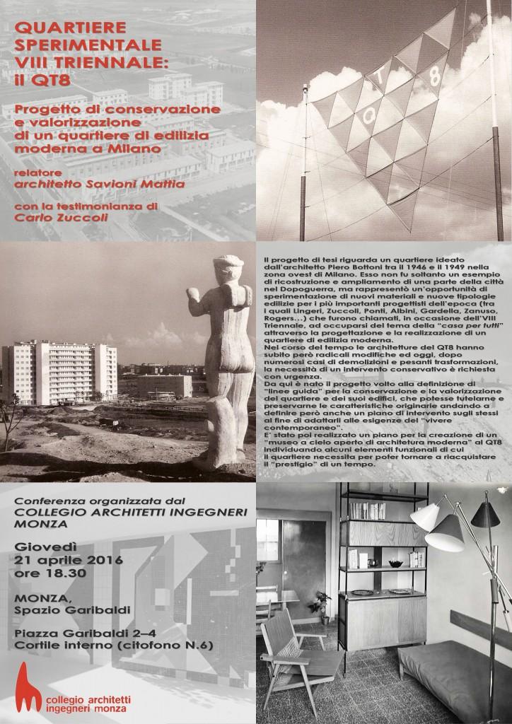Locandina Conferenza QT8_21 Aprile_Collegio ingarch Monza